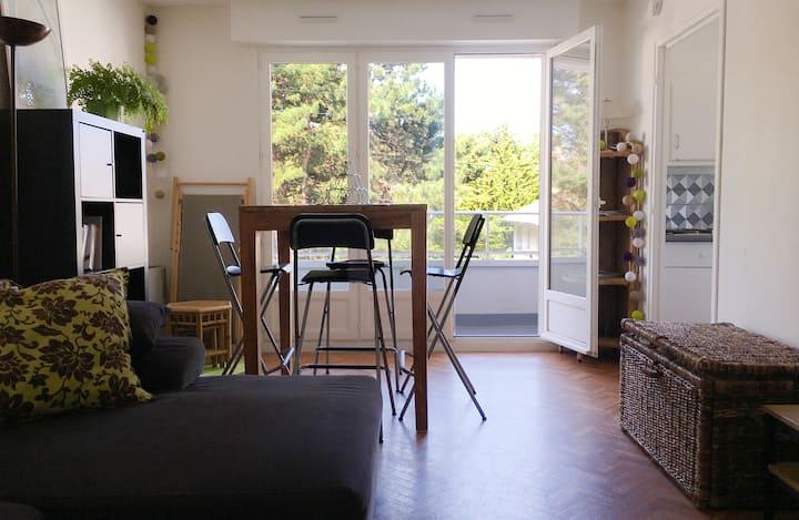 Studio meublé Le Touquet