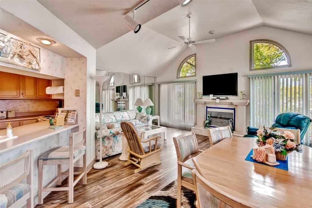 You will feel right at home in this stunning Branson vacation rental condo.