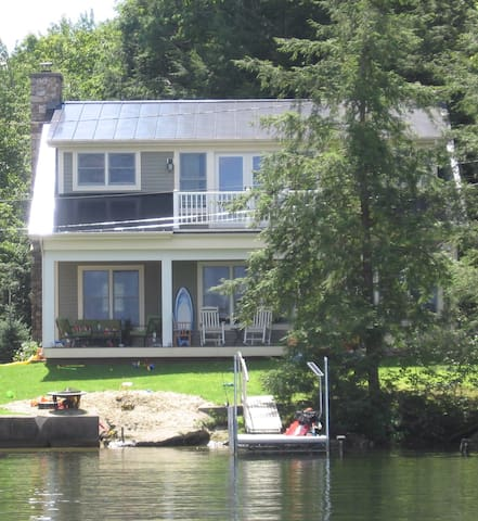 Stunning Lakefront Home with the best lake view!