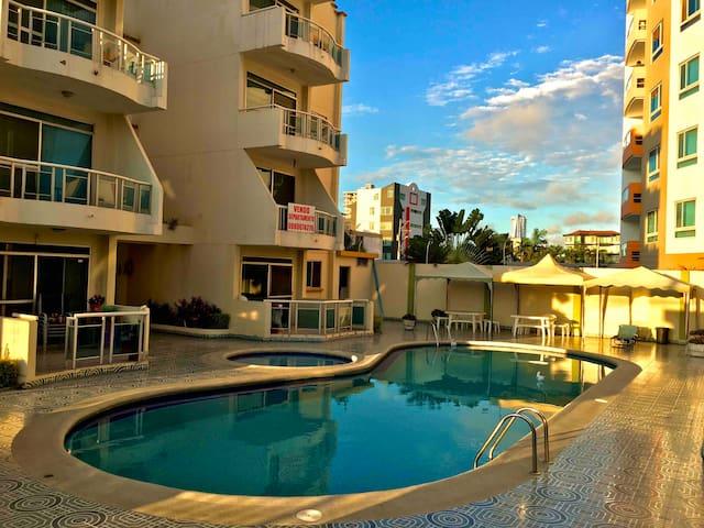 Arriendo Apartamento en Tonsupa-Club del Pacífico