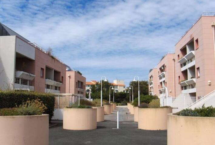résidence quartier Les minimes - La Rochelle - Pis
