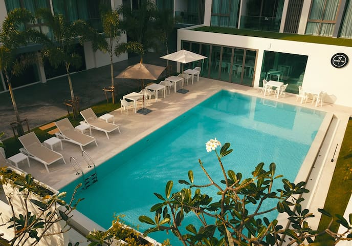 Stylish and Cozy 2-BR apartments 70 sq.m., 2 pools, 2 gyms ❤️ BangTao (201)