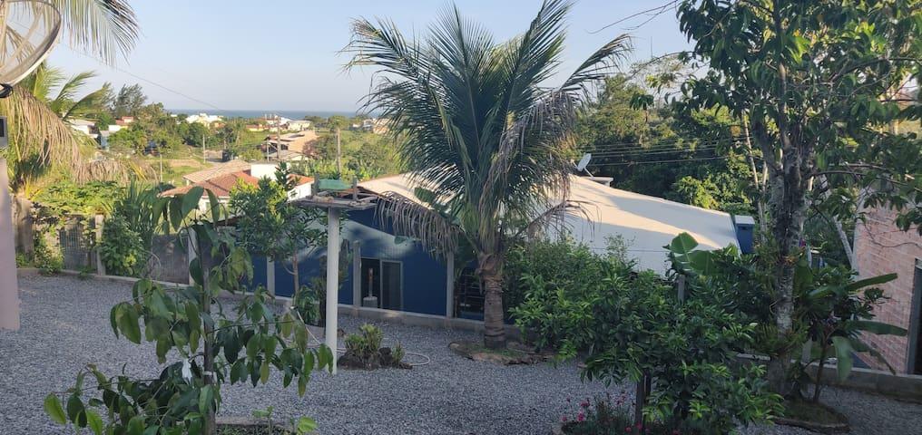 Casa aconchegante - na praia do Siriú - Garopaba