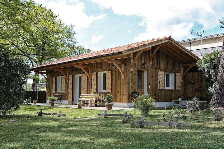 La Cabane du Résinier entre lac et océan - Vielle-Saint-Girons - Rumah