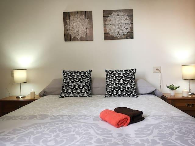 Apartamento a 40m playa Grande de Miño