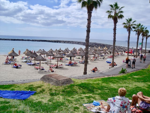 Costa Adeje, Playa Fañabe