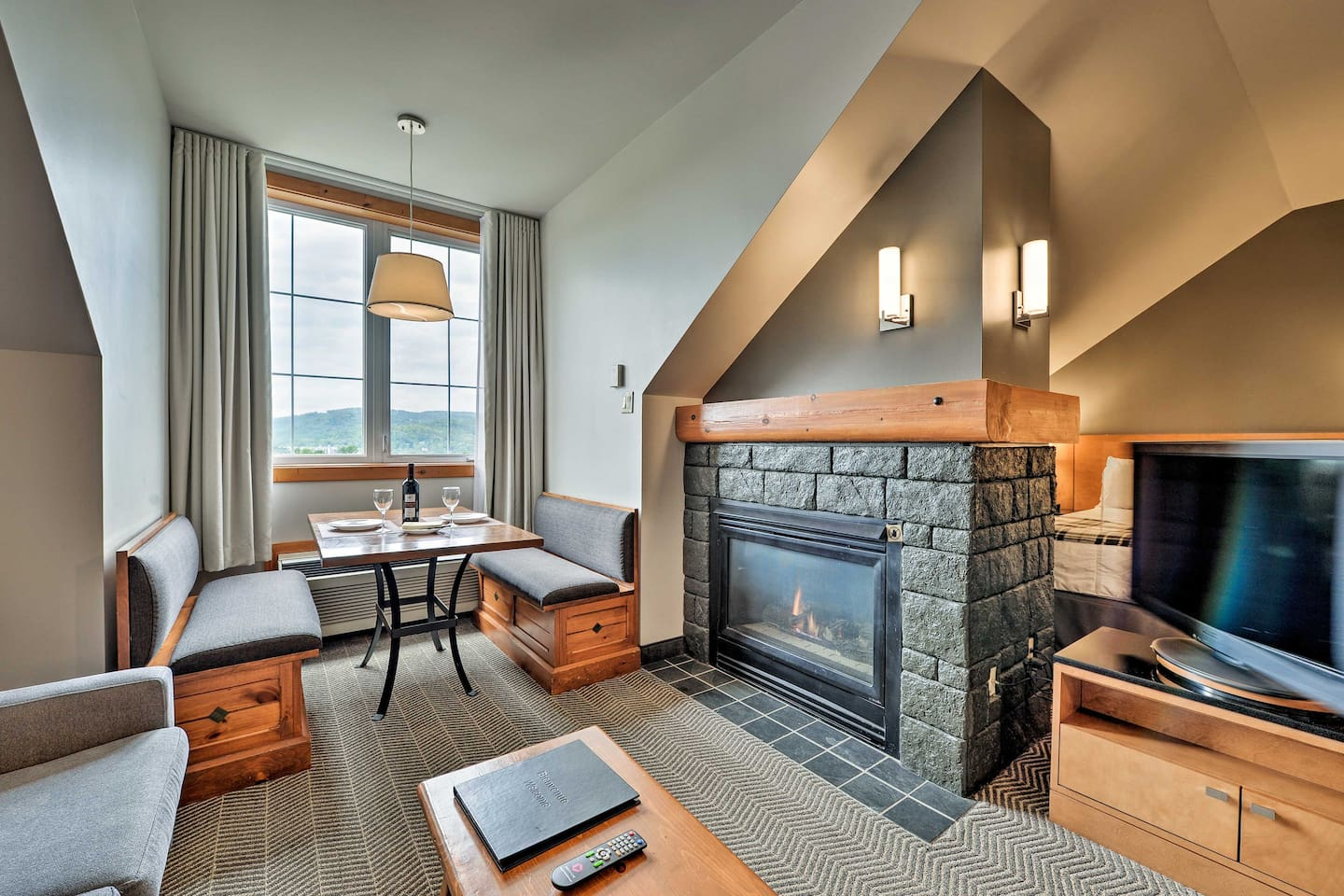 Escpe to Mont Tremblant and stay at this 1-bath studio vacation rental!