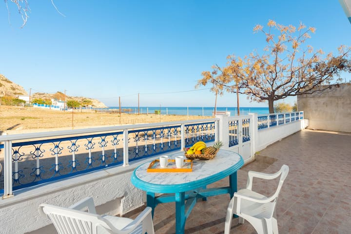 Sunny Beach Stegna (30m from the Beach) - Stegna - House