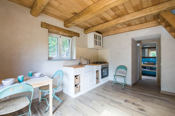 Lo Scau Little Cottage in the Ligurian Countryside - Millesimo - Hus