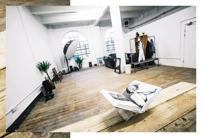 stunning film/photography warehouse studio