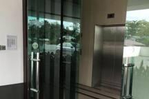 Access to Lift Lobby at Main Entrance