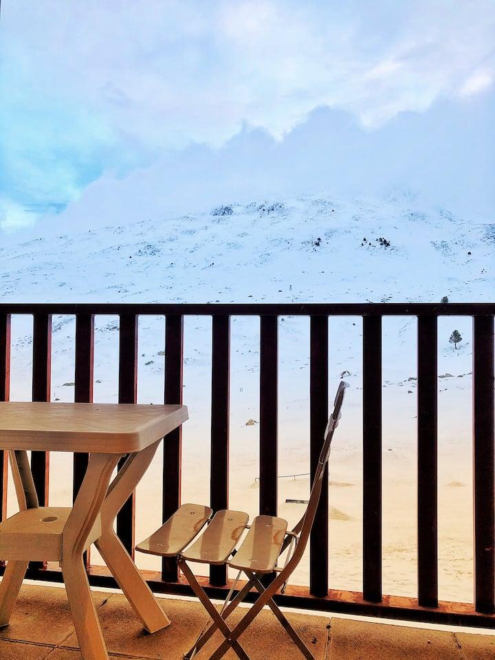 Magnifico estudio en pistas de Esquí