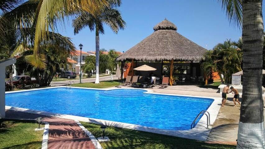 House-NUEVO VALLARTA-Pool-Private Condo-LOCATION