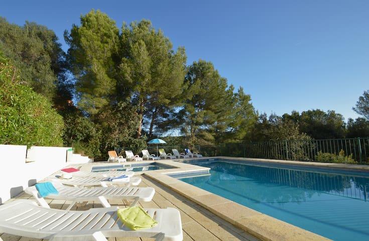 Beautiful and ozy duplex with pool in Cala Galdana - Serpentona - Rumah