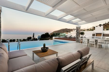 Villa Phos in Lindos with swimming pool