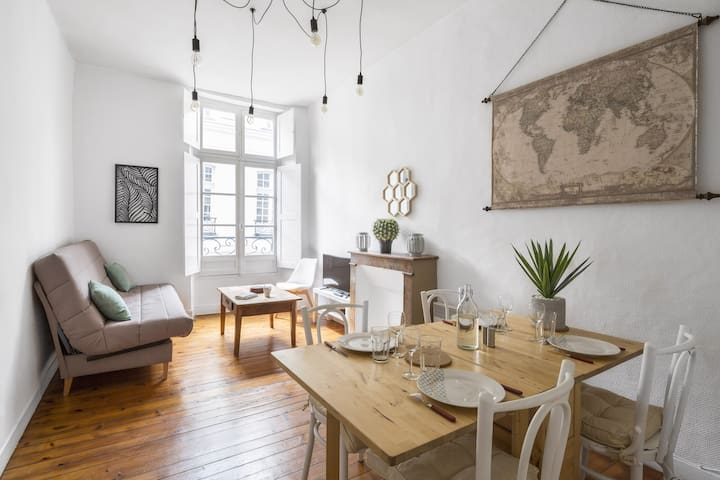 "FEYDEAU - charming apartment in ""bail mobilité"""