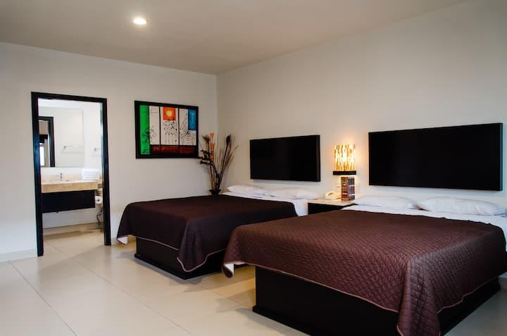 MX-TIJUANA Hotel Velario Habitacion DOBLE 2 CAMAS
