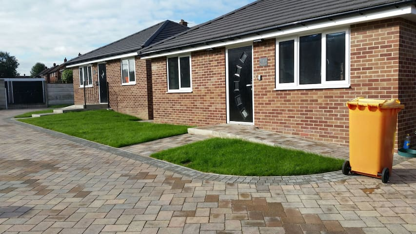 Detached 2 bed bungalow, newly built. Parking - Barnsley