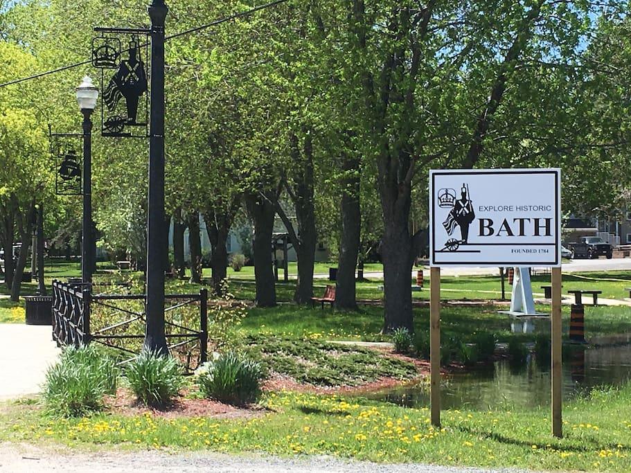 Welcome to Historic Bath, Ontario