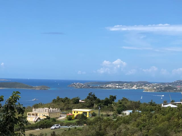 Pastory View Close to Cruz Bay