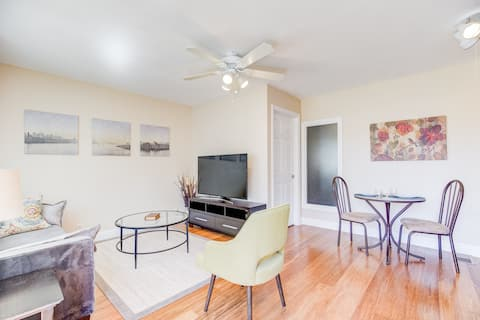 Immaculate 1 K Bed Apt Near Stanford Med, F@Book