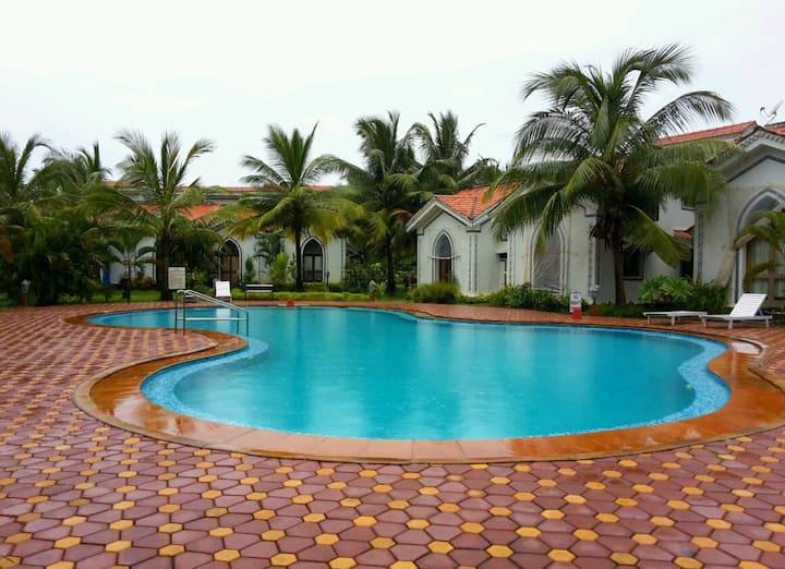 2 BHK Duplex Near ClubCabana Hilton Apt Arpora Goa