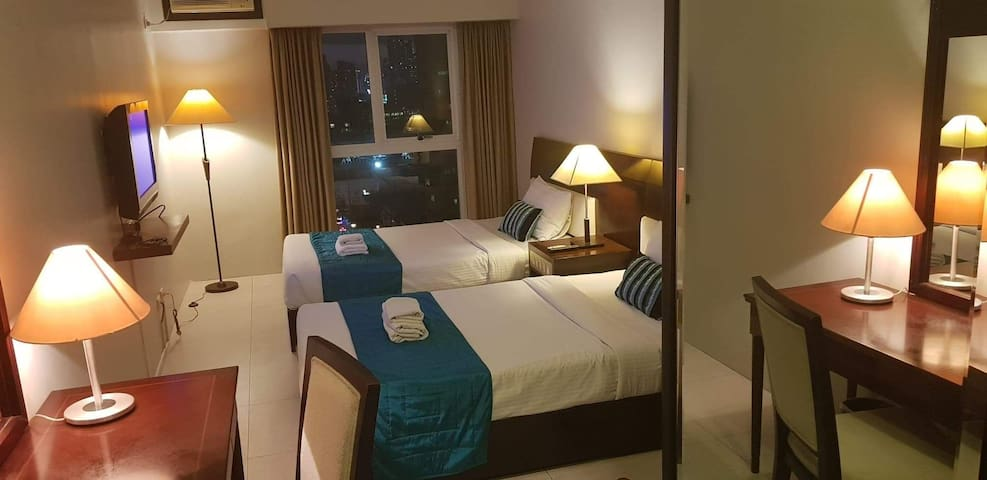 Studio Suite near BIG MALLS & Ortigas Centre wifi