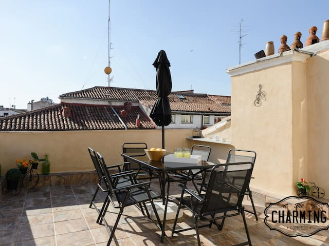 Charming Argensola Center - With Terrace