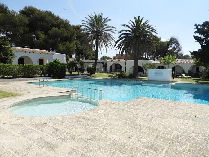 Binisafua playa (16) piscina relax, família niños