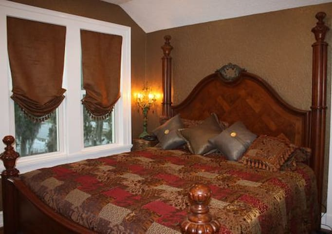 The Dancing Horse Room - Inside a Full Service B&B
