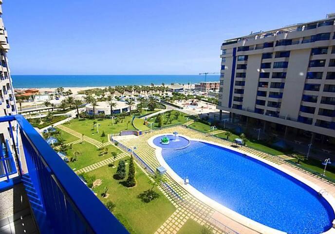 Patacona Resort VALENCIA  BEACH ,  TERRAZE, GARAJE