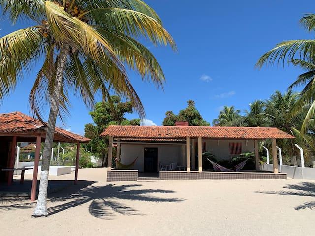 Casa de praia em Carne de Vaca no litoral norte