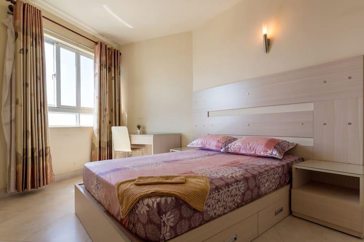 Bedroom 2 - pool apartment - dist 5 - Hồ Chí Minh - Departamento
