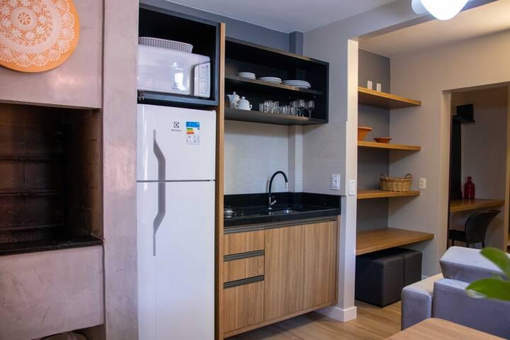 Apartamento em Jurerê completo à 50 metros do mar