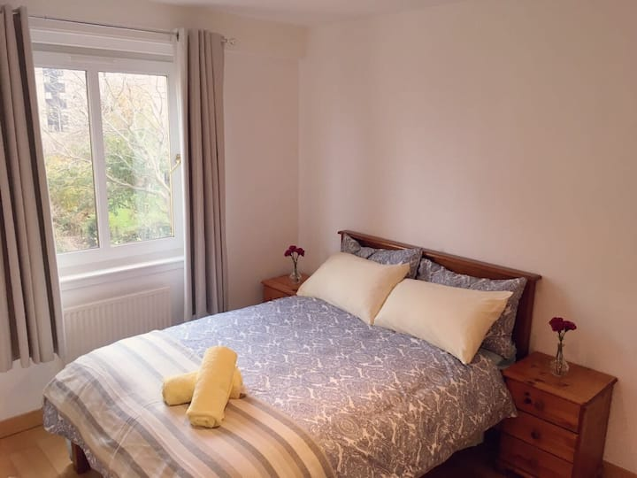 Double room with ensuite shower room, LEITH