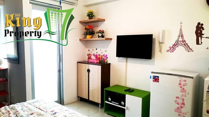 PROMO Sea View Studio Apartment GreenBay with Mall - Penjaringan - Apartamento