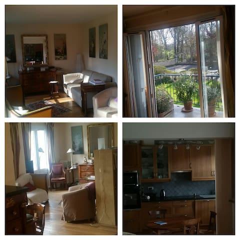Appartement 4 p. à 40 min  de Paris - Saint-Germain-en-Laye - Apartamento