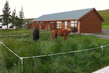 Miðsitja 1, A good room at a horse breeding farm - Varmahlíð