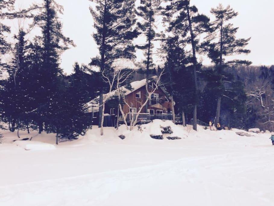 Valhalla in winter