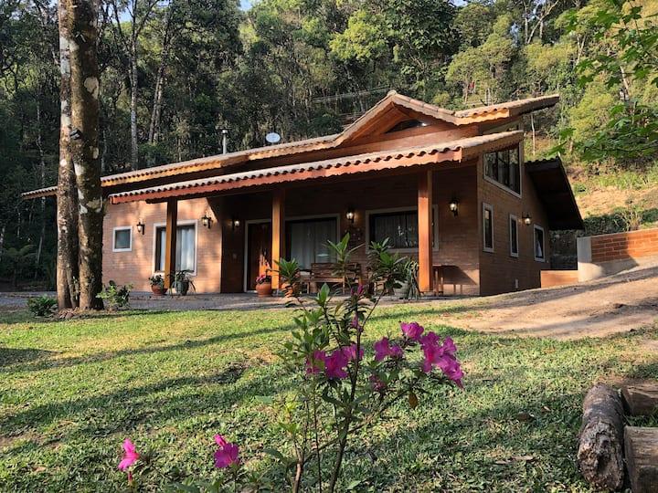 Casa Oriah - Trilha das Pedras - Monte Verde/MG
