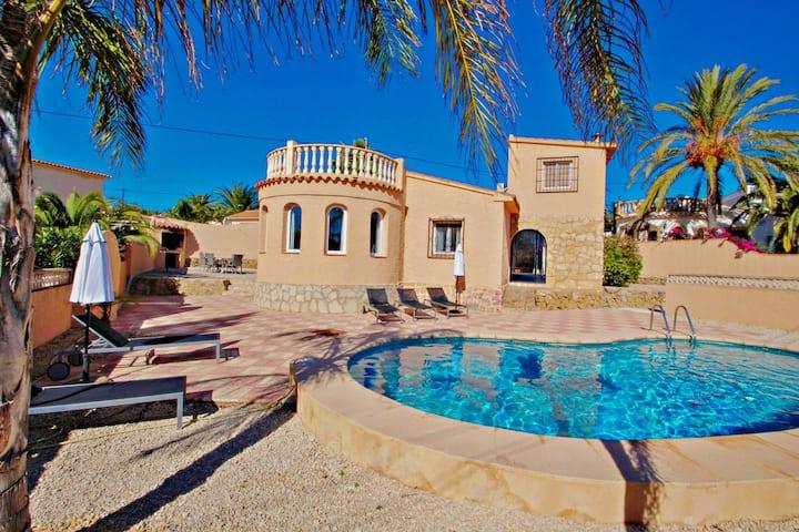 Cometa-86 - villa with private pool close to the beach in Calpe