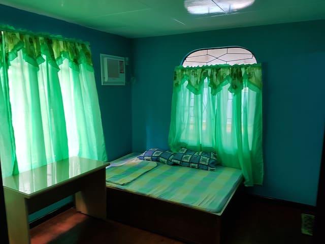Ocean blue room in Puerto Galera