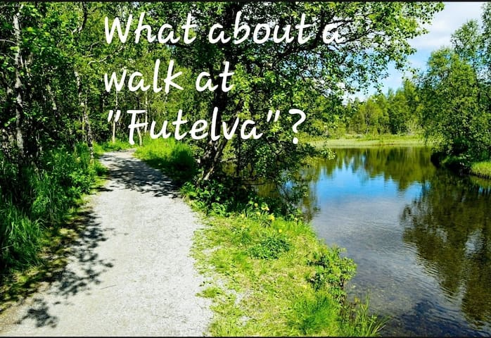 Futelva is a river about 1 km from the house