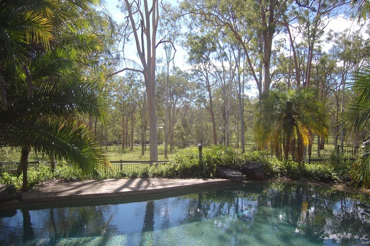 Country Charm with sparkling pool - Jimboomba - Talo