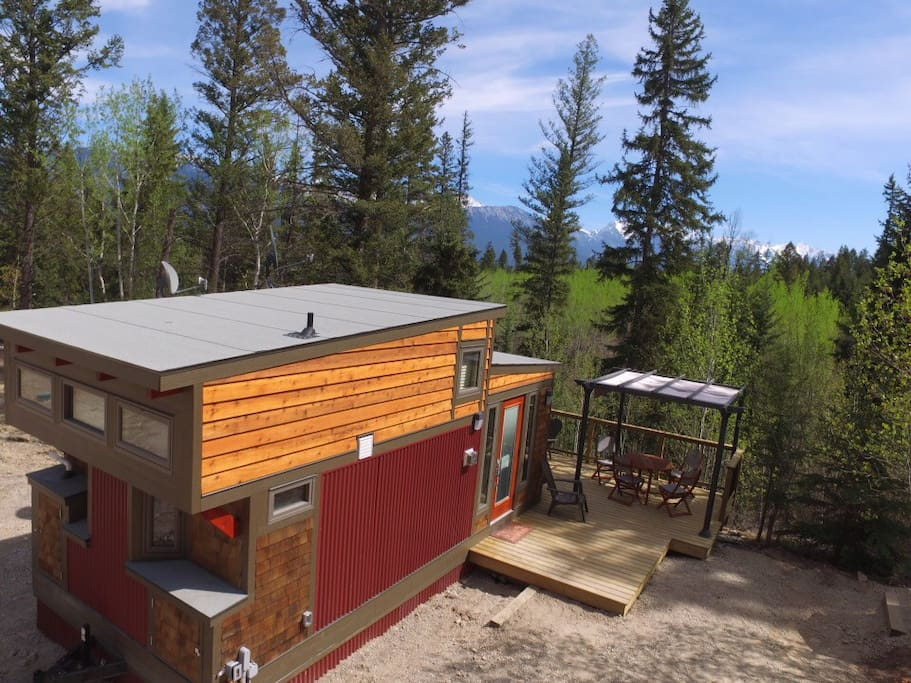 new tiny house on creekside acreage houses for rent in
