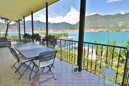 Amazing villa with great lake view near the shore - Magnolie-porticcioli - Villa