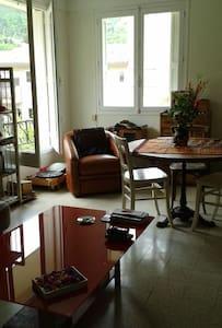 Bel appartement, beau jardin, Vernet village. - Vernet-les-Bains