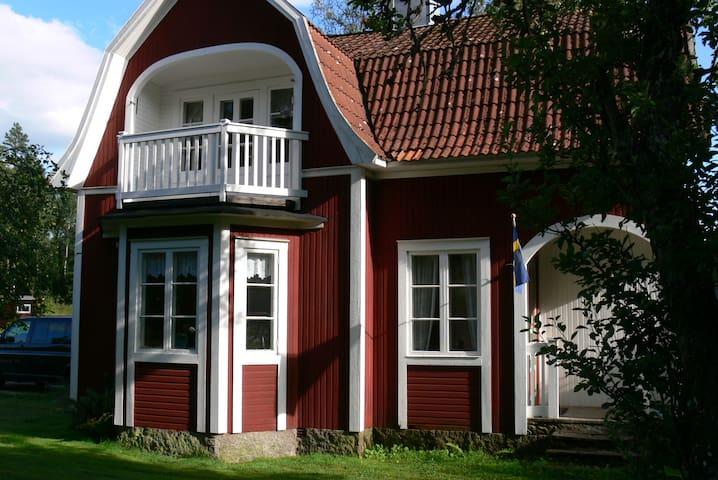 Villa Kunterbunt in Skruv bei Lessebo