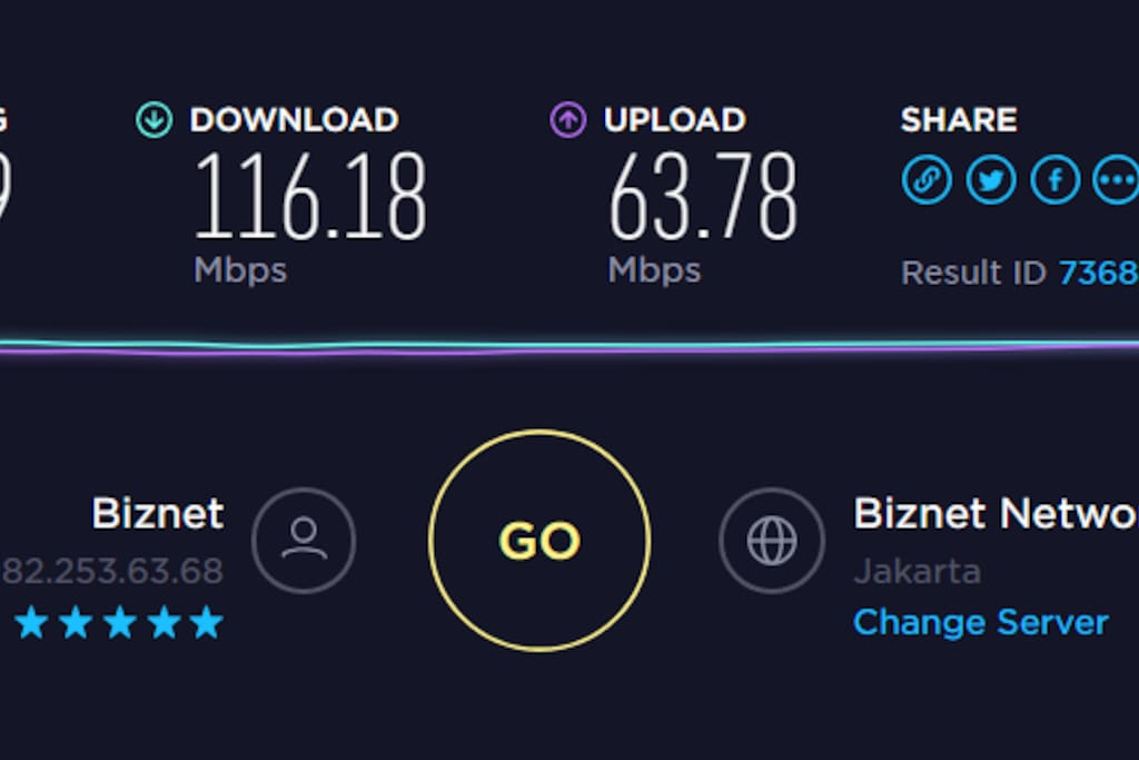 FREE WIFI Up to 100 Mbps