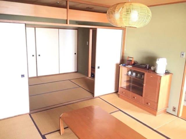 建物下バーベキュー可!!マリンスポーツや釣りに最適!!24時間チェックイン可!白浜リゾートマンション - Shirahama-chō - Villa